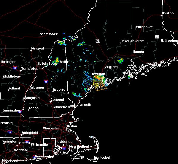 Radar Image for Severe Thunderstorms near Freeport, ME at 7/29/2015 3:13 PM EDT