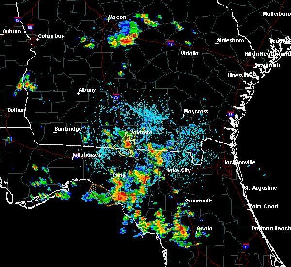 Radar Image for Severe Thunderstorms near Valdosta, GA at 7/29/2015 3:25 PM EDT