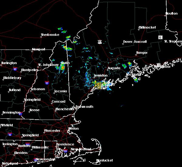 Radar Image for Severe Thunderstorms near Freeport, ME at 7/29/2015 3:46 PM EDT