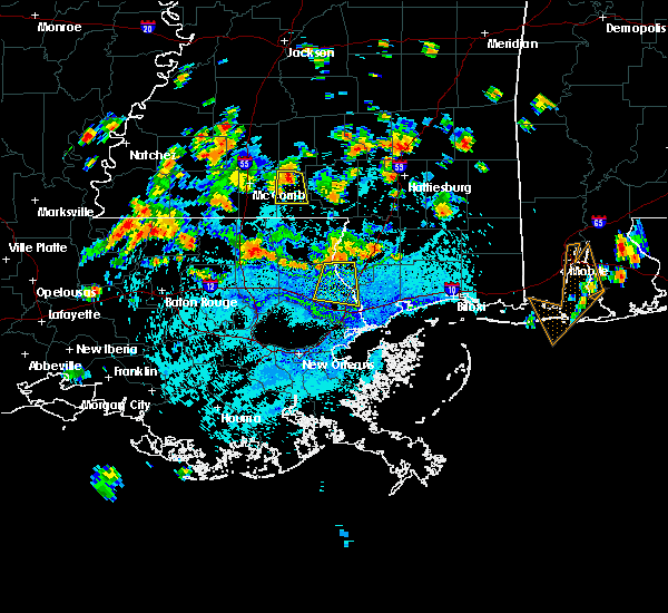 Radar Image for Severe Thunderstorms near Picayune, MS at 7/30/2015 3:10 PM CDT