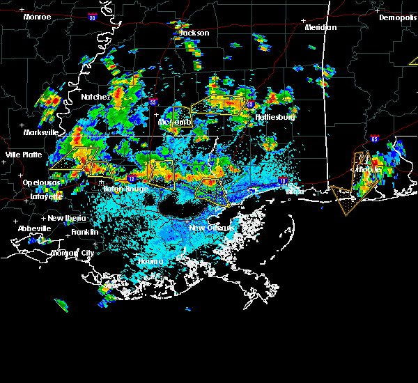 Radar Image for Severe Thunderstorms near Picayune, MS at 7/30/2015 3:48 PM CDT