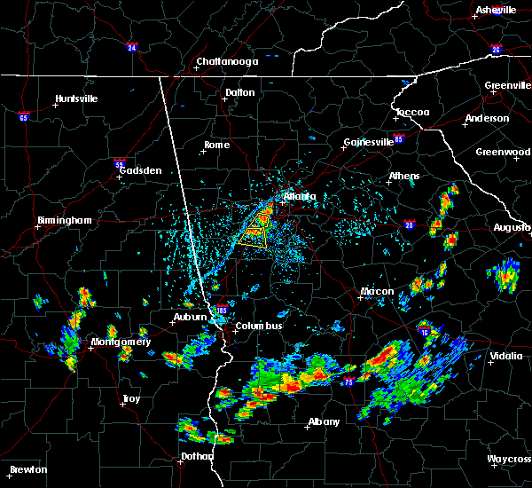 Radar Image for Severe Thunderstorms near Chattahoochee Hills, GA at 7/30/2015 5:59 PM EDT