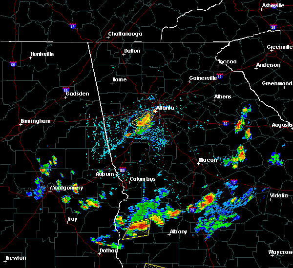 Radar Image for Severe Thunderstorms near Chattahoochee Hills, GA at 7/30/2015 6:32 PM EDT