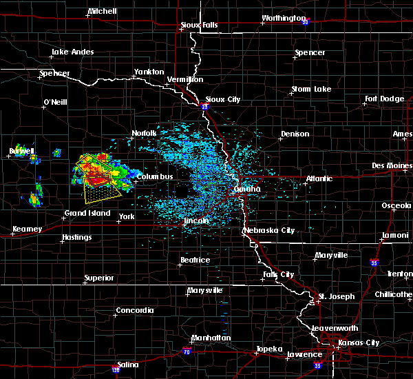 Radar Image for Severe Thunderstorms near Fullerton, NE at 7/31/2015 3:31 PM CDT