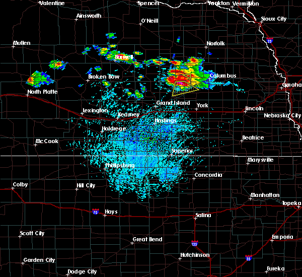 Radar Image for Severe Thunderstorms near Fullerton, NE at 7/31/2015 3:45 PM CDT