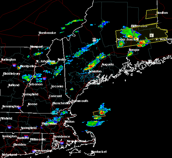 Radar Image for Severe Thunderstorms near Hallowell, ME at 8/1/2015 3:16 PM EDT