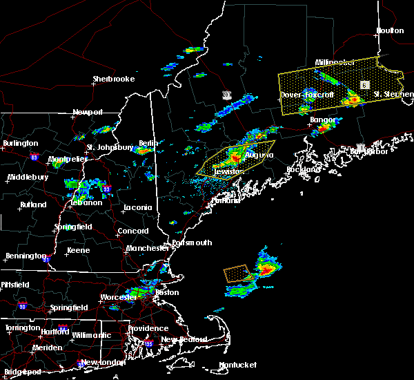 Radar Image for Severe Thunderstorms near Hallowell, ME at 8/1/2015 3:37 PM EDT