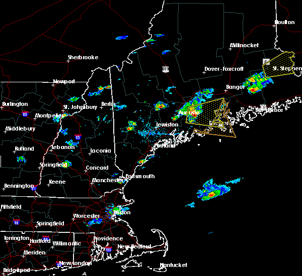Radar Image for Severe Thunderstorms near Rockland, ME at 8/1/2015 4:15 PM EDT