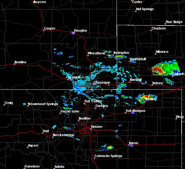 Radar Image for Severe Thunderstorms near Broadwater, NE at 8/1/2015 4:40 PM MDT