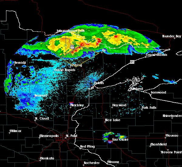 Radar Image for Severe Thunderstorms near Kinney, MN at 8/2/2015 2:24 AM CDT