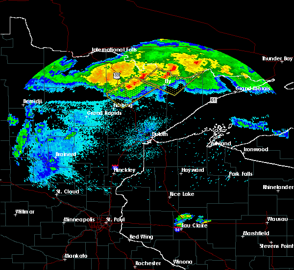 Radar Image for Severe Thunderstorms near Kinney, MN at 8/2/2015 2:39 AM CDT