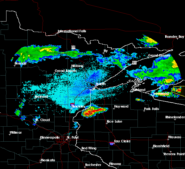 Radar Image for Severe Thunderstorms near Danbury, WI at 8/2/2015 5:15 AM CDT