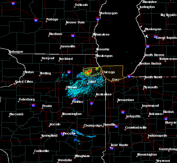 Radar Image for Severe Thunderstorms near Stickney, IL at 8/2/2015 2:38 PM CDT