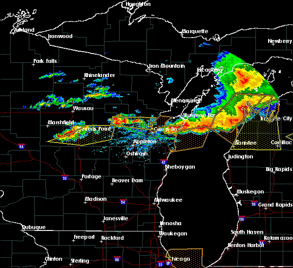 Radar Image for Severe Thunderstorms near Howard, WI at 8/2/2015 3:15 PM CDT