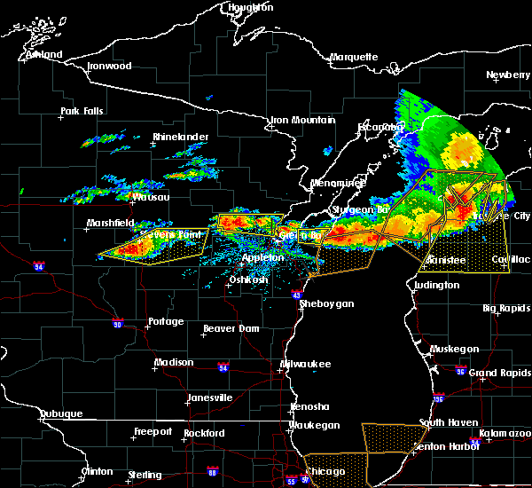 Radar Image for Severe Thunderstorms near Howard, WI at 8/2/2015 3:26 PM CDT
