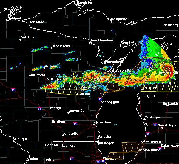 Radar Image for Severe Thunderstorms near Howard, WI at 8/2/2015 3:47 PM CDT