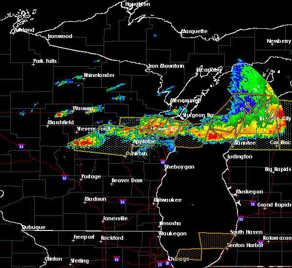 Radar Image for Severe Thunderstorms near Howard, WI at 8/2/2015 3:53 PM CDT