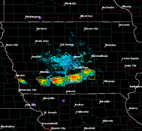 Radar Image for Severe Thunderstorms near Osceola, IA at 8/2/2015 6:24 PM CDT