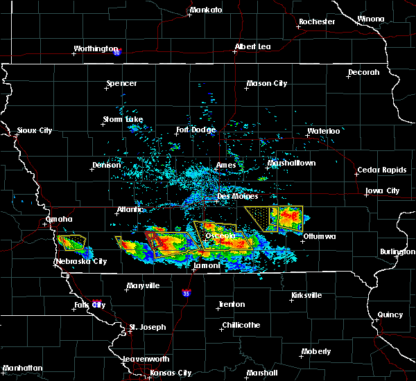 Radar Image for Severe Thunderstorms near Bedford, IA at 8/2/2015 7:04 PM CDT