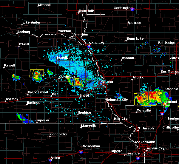 Radar Image for Severe Thunderstorms near St. Edward, NE at 8/2/2015 8:02 PM CDT