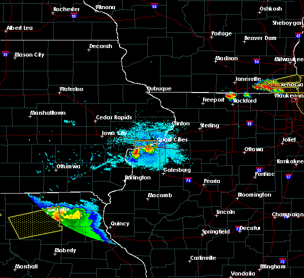 Radar Image for Severe Thunderstorms near Bettendorf, IA at 8/2/2015 9:07 PM CDT