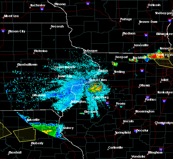 Radar Image for Severe Thunderstorms near Cambridge, IL at 8/2/2015 9:44 PM CDT