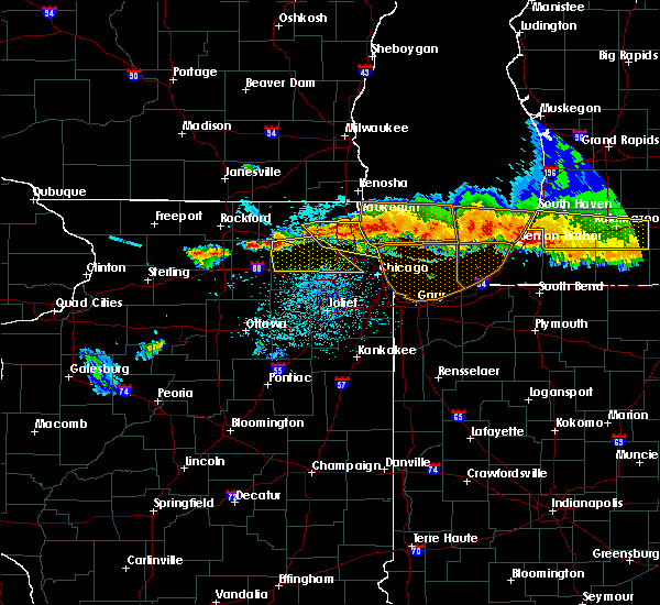 Radar Image for Severe Thunderstorms near South Elgin, IL at 8/2/2015 10:20 PM CDT