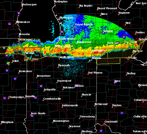 Radar Image for Severe Thunderstorms near Swanton, OH at 8/2/2015 11:47 PM EDT