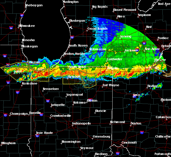 Radar Image for Severe Thunderstorms near Dunlap, IN at 8/3/2015 12:51 AM EDT