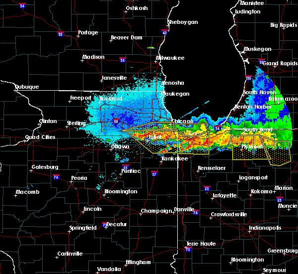 Radar Image for Severe Thunderstorms near Lisle, IL at 8/2/2015 11:54 PM CDT