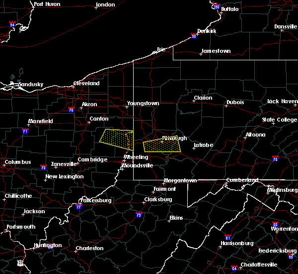 Radar Image for Severe Thunderstorms near Summitville, OH at 8/3/2015 4:37 PM EDT