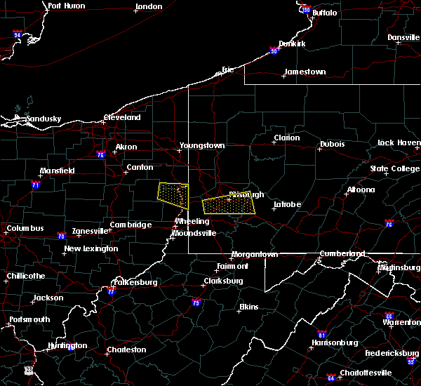 Radar Image for Severe Thunderstorms near Summitville, OH at 8/3/2015 4:38 PM EDT