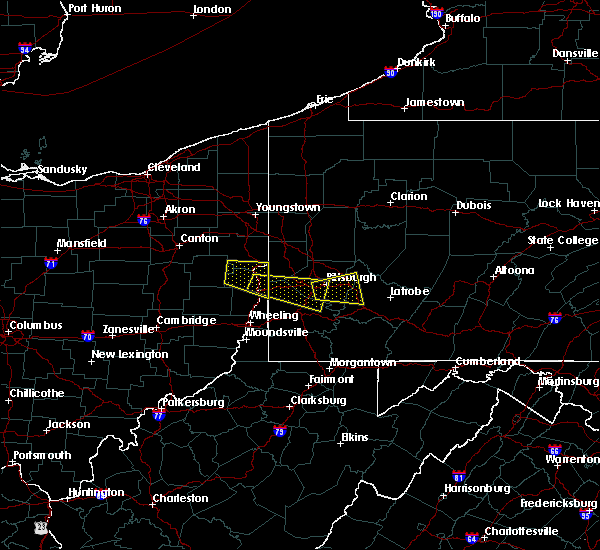 Radar Image for Severe Thunderstorms near Baldwin, PA at 8/3/2015 5:00 PM EDT
