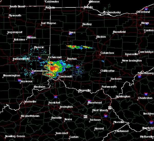 Radar Image for Severe Thunderstorms near New Trenton, IN at 8/3/2015 5:41 PM EDT