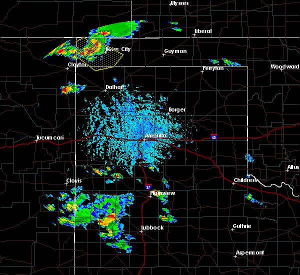Radar Image for Severe Thunderstorms near Boise City, OK at 8/3/2015 5:30 PM CDT