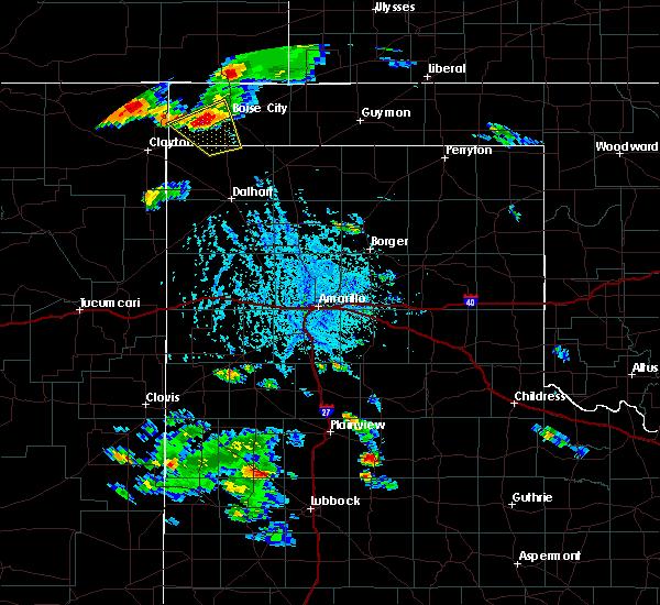 Radar Image for Severe Thunderstorms near Boise City, OK at 8/3/2015 5:51 PM CDT