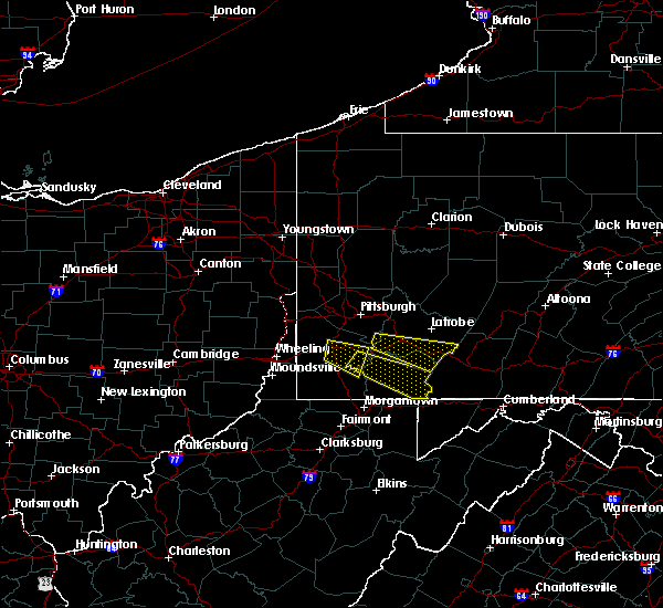 Radar Image for Severe Thunderstorms near Ellsworth, PA at 8/3/2015 6:55 PM EDT