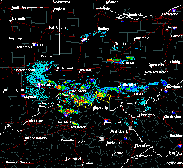 Radar Image for Severe Thunderstorms near Williamstown, KY at 8/3/2015 7:30 PM EDT