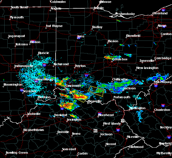 Radar Image for Severe Thunderstorms near Neville, OH at 8/3/2015 7:47 PM EDT
