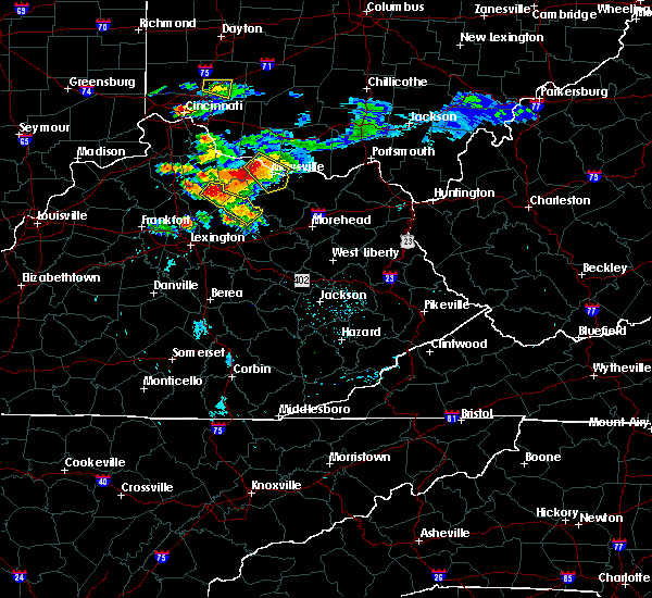 Radar Image for Severe Thunderstorms near Carlisle, KY at 8/3/2015 8:12 PM EDT