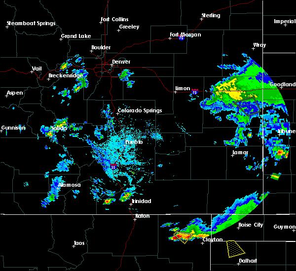 Radar Image for Severe Thunderstorms near Grenville, NM at 8/3/2015 6:26 PM MDT