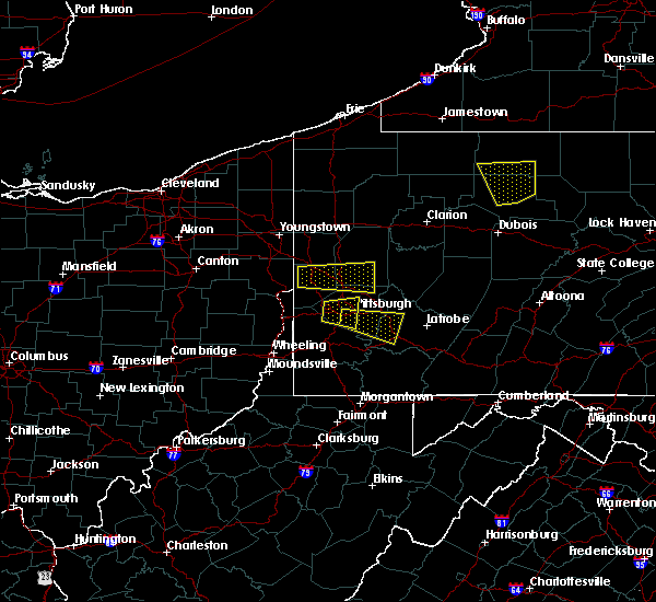 Radar Image for Severe Thunderstorms near Thornburg, PA at 8/3/2015 8:25 PM EDT