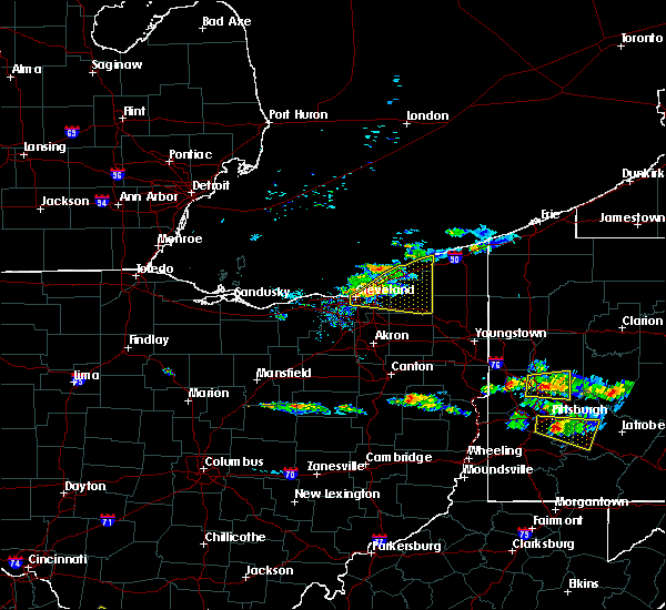 Radar Image for Severe Thunderstorms near Orange, OH at 8/3/2015 8:34 PM EDT