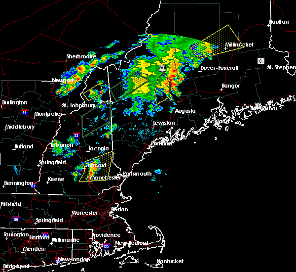 Radar Image for Severe Thunderstorms near Anson, ME at 8/3/2015 8:41 PM EDT