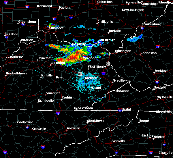 Radar Image for Severe Thunderstorms near Paris, KY at 8/3/2015 9:01 PM EDT