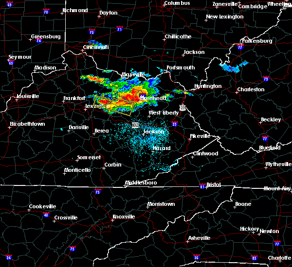 Radar Image for Severe Thunderstorms near Jeffersonville, KY at 8/3/2015 9:09 PM EDT