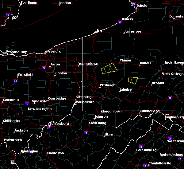 Radar Image for Severe Thunderstorms near Calcutta, OH at 8/3/2015 9:25 PM EDT