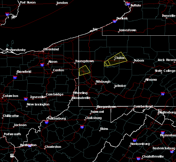 Radar Image for Severe Thunderstorms near West Pittsburg, PA at 8/3/2015 9:46 PM EDT