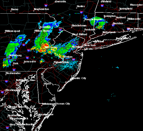 Radar Image for Severe Thunderstorms near Fullerton, PA at 8/4/2015 2:36 AM EDT