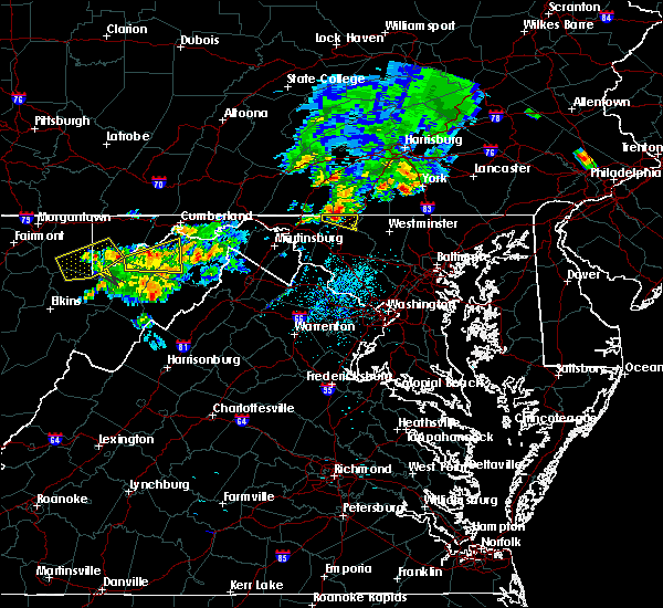 Radar Image for Severe Thunderstorms near Carroll Valley, PA at 8/4/2015 2:52 AM EDT